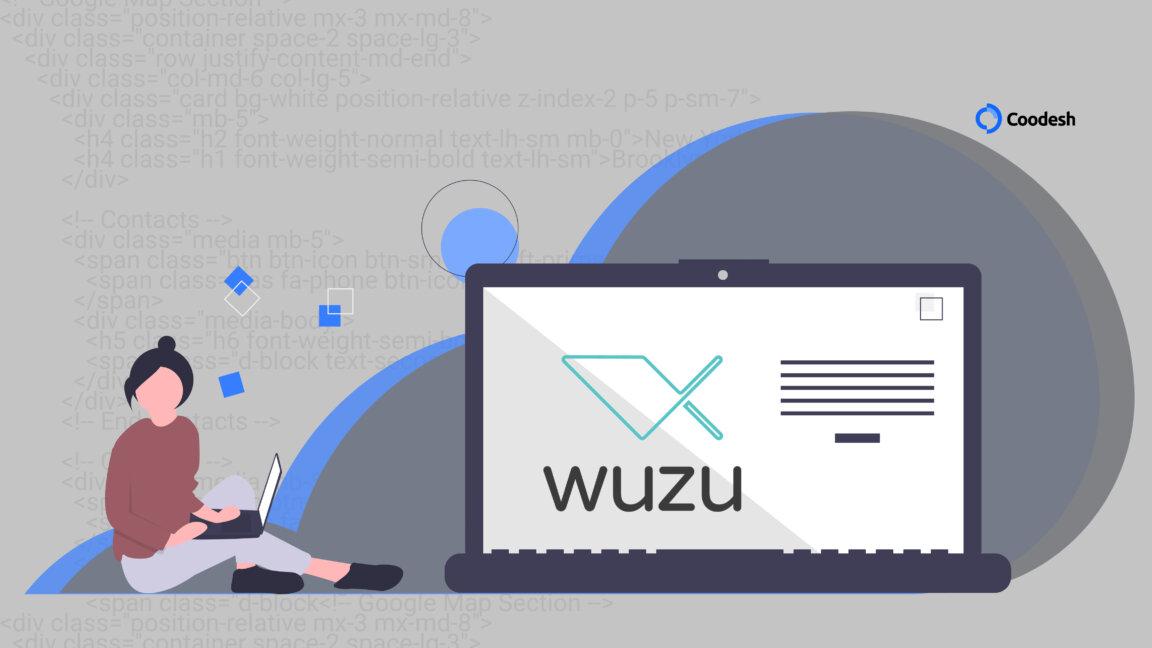ilustração mostra figura de mulher ao lado de computador